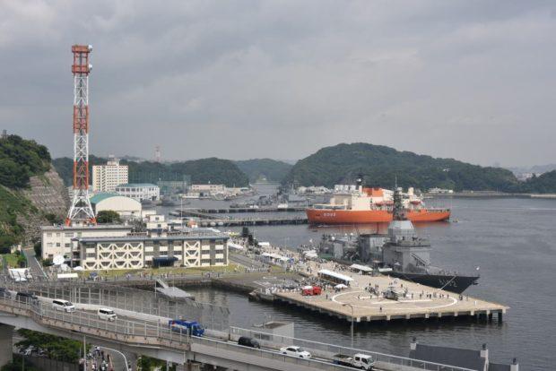 大きさにビックリ「サマーフェスタ2018」海上自衛隊 艦艇一般公開 @横須賀