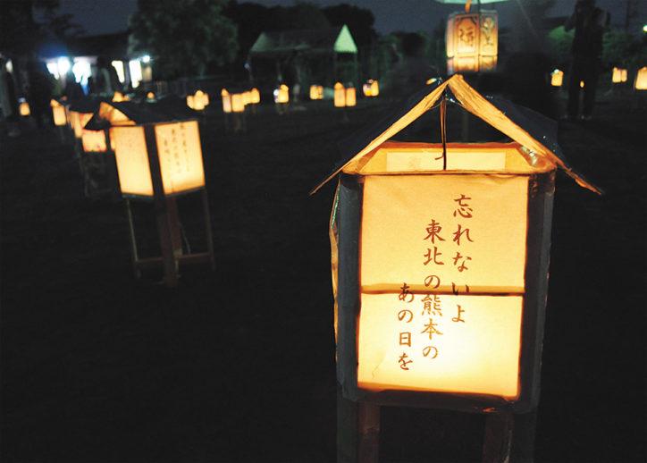 光と影が幻想的な「第10回七夕灯篭祭り」@瀬谷区