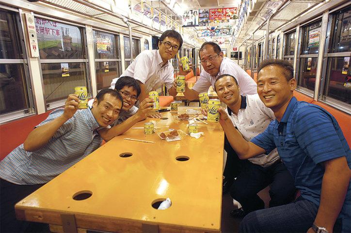 【初開催】電車でのむ夢かないます!「いずっぱこ居酒屋」@大雄山駅