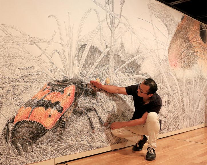 舘野鴻絵本原画展「ぼくの昆虫記-見つめた先にあったもの-」