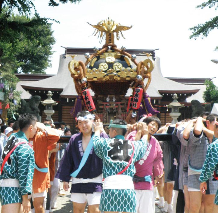 【今週末】厚木神社例大祭