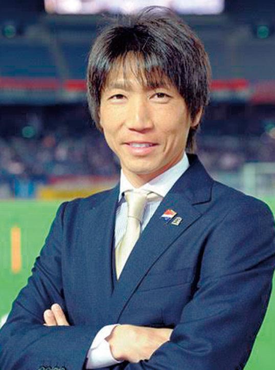 サッカー元日本代表の波戸康広氏が講演会「夢は人を成長させる」