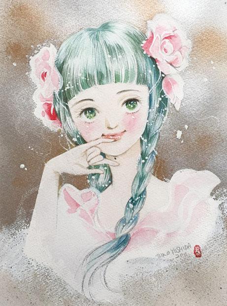 半分…全部、青い。「猫と花と少女漫画展」2時間500円で漫画読み放題!