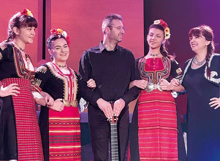 ブルガリアンヴォイスとブルガリアの民族音楽@和光大学ポプリホール鶴川