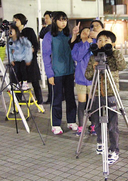 火星大接近を大型望遠鏡で!@富士見川公園