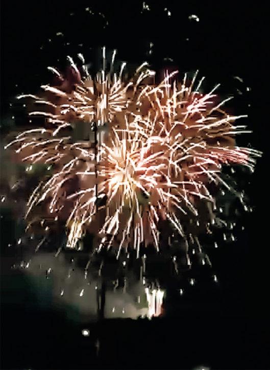 八坂神社例大祭花火(町田・成瀬杉山神社)【7月8日(日)】夏祭りでスターマインなど15分間