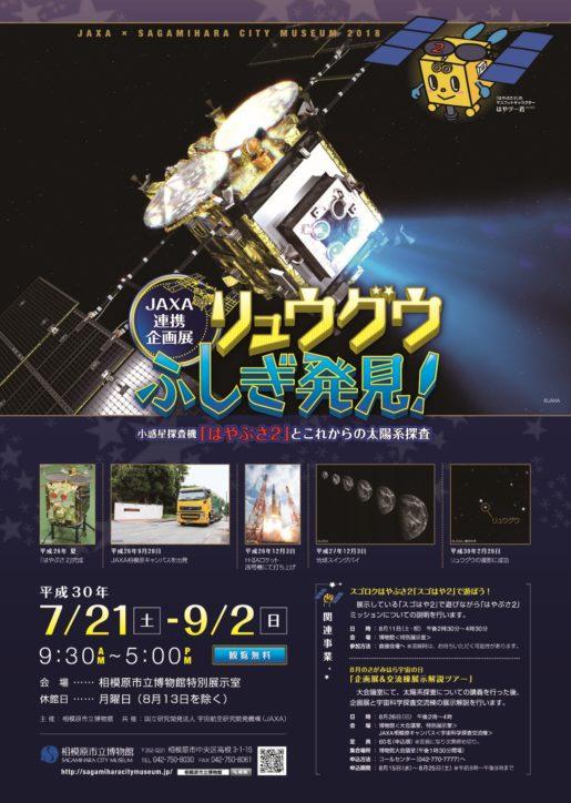 JAXA連携企画展『リュウグウふしぎ発見!』@相模原市立博物館