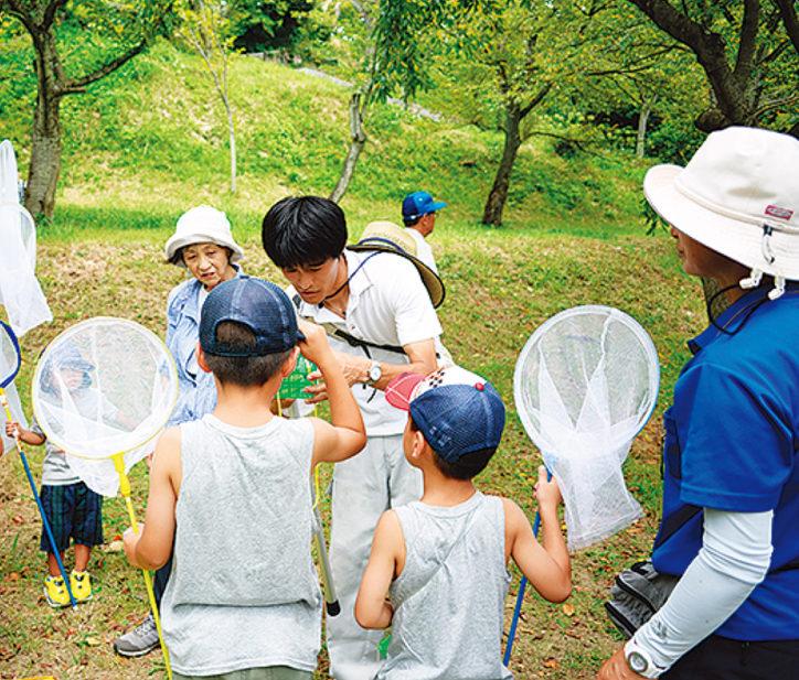 夏休み早起きして楽しもう!「親子で昆虫観察会」参加無料@県立塚山公園