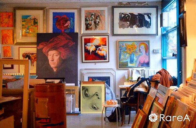 厚木市文化協会美術会「会員展」
