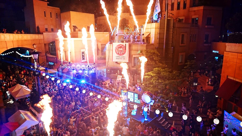 「CITTA'の夏祭り2019」和パフォーマンスに御神輿も!世界各国の屋台料理が並ぶ@ラ チッタデッラ【川崎市】
