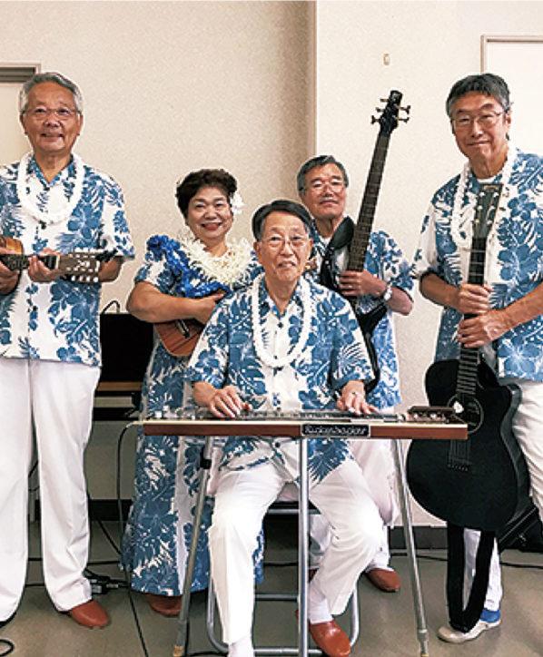 ハワイアンバンド「NA Mele Hawaii」ミュージックショー@マクドナルド三浦海岸店