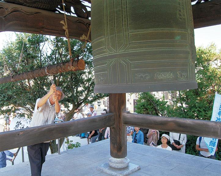 平和の鐘つき&戦争体験を聞く会@長念寺