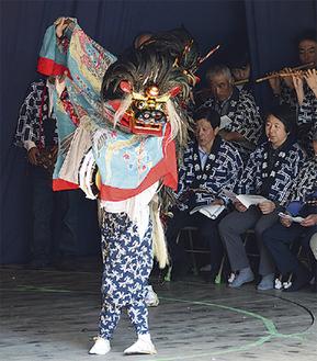 神奈川県・無形民俗文化財「菅の獅子舞」@菅薬師堂