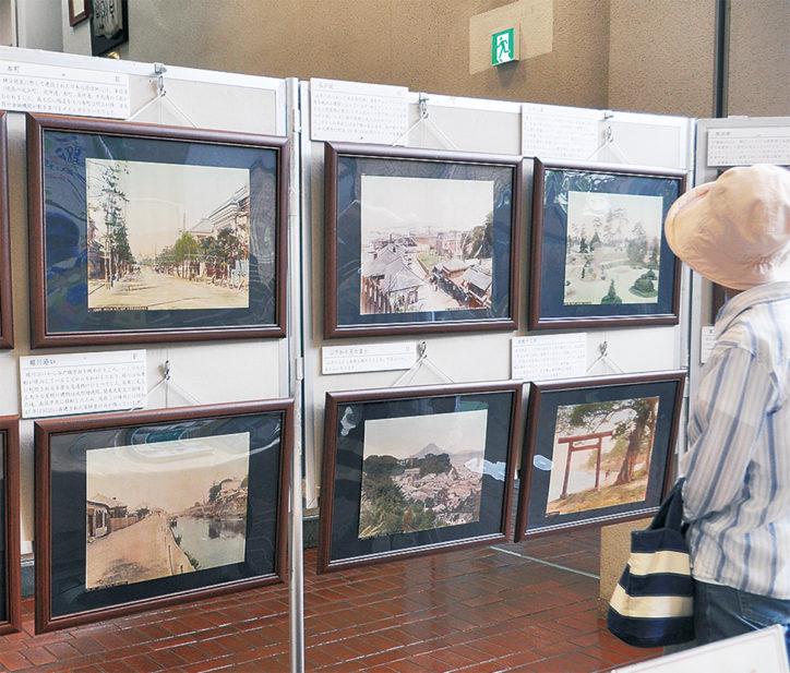 明治・横浜・彩色写真展~明治150年~@瀬谷図書館