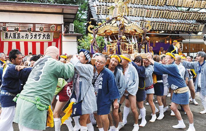 五反田神社「例大祭」ウルトラセブンの写真撮影会も!