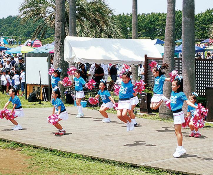 大人と子どもの元気アップ運動クラブ「チアダンス」参加無料!@辻堂海浜公園