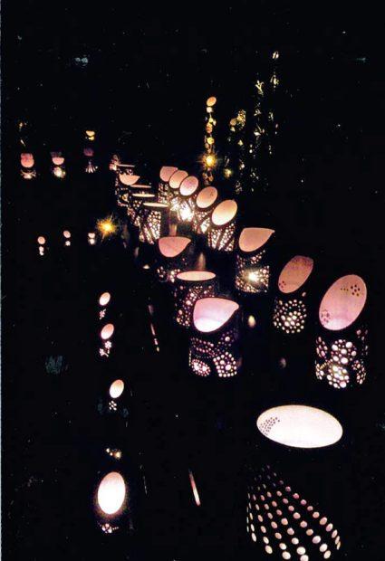 9月29日(土)湯河原温泉に幻想的な夜景が広がる!「灯りの祭典」