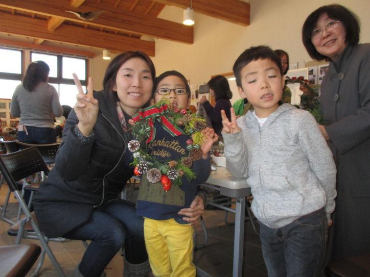 親子で自然素材を使った「クリスマスリース作り教室」12月9日(日)開催@いせはら塔の山緑地公園