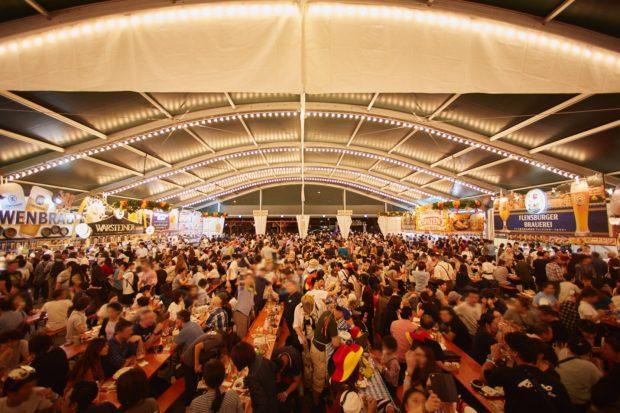 日本初上陸ビールも登場「横浜オクトーバーフェスト2019」@横浜赤レンガ倉庫