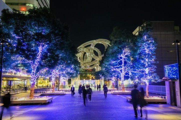 みなとみらい~横浜駅がイルミでつながる「ヨコハマミライト」横浜市内最大級・全長約1.5㎞