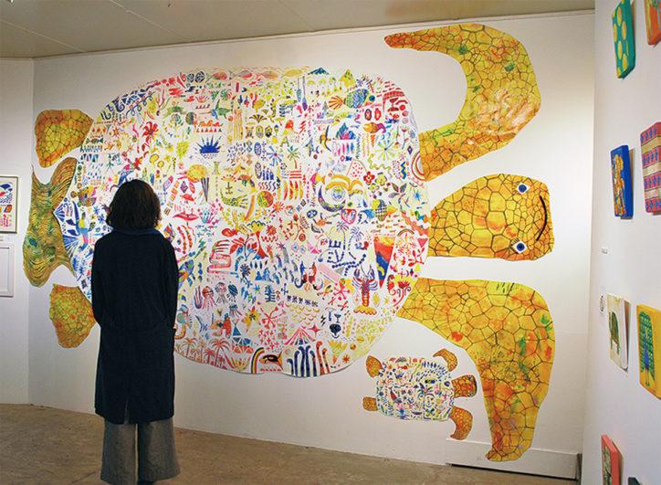 ザ・キャビンカンパニーの世界展「あたまのなかのいきもの」