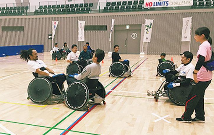 「快汗スポーツDAY」&都パラリンピック体験プログラム「NO LIMITS CHALLENGE」