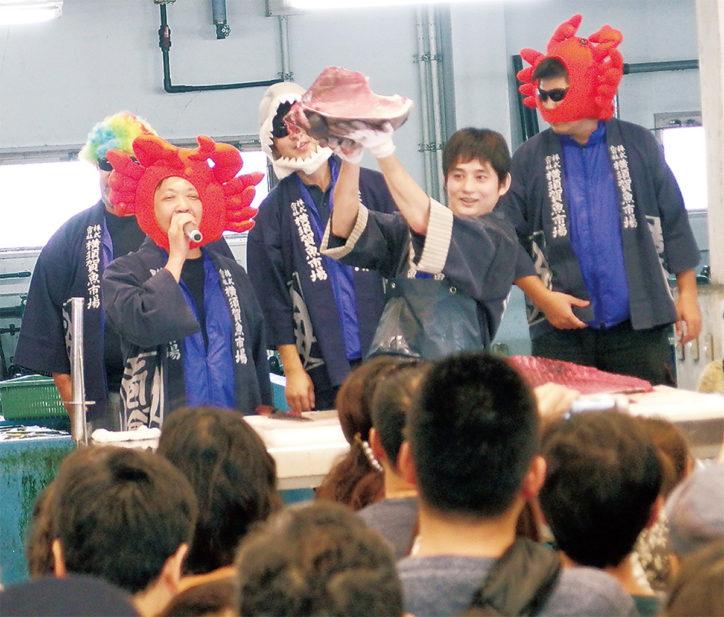 「第17回よこすかさかな祭り」せり販売やマグロ解体ショーも!
