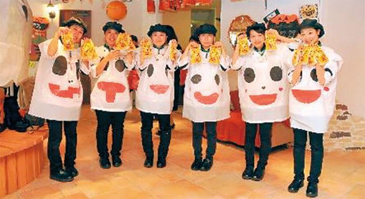 三幸学園姉妹校が合同企画「ハロウィン歯ブラシ大作戦」