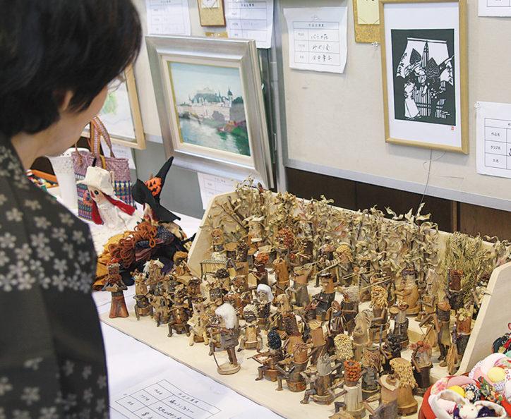 第43回南区文化祭「区民創作作品店」【10月20日・21日】