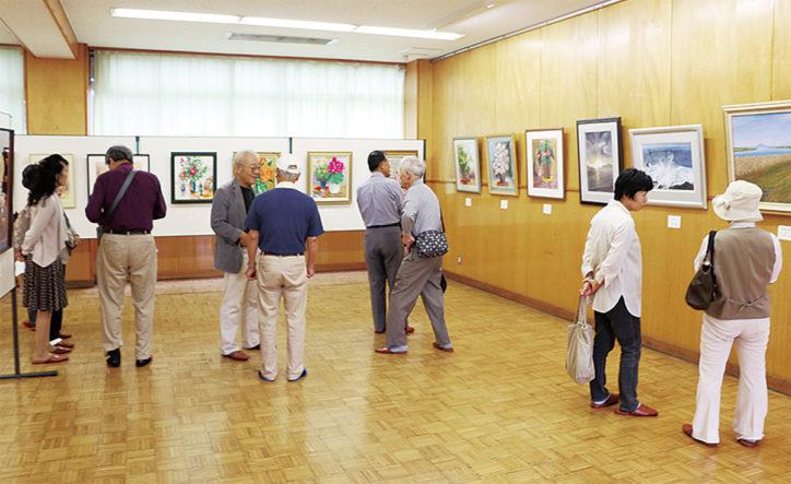 桜台美術館「地域交流絵画展・合同展」
