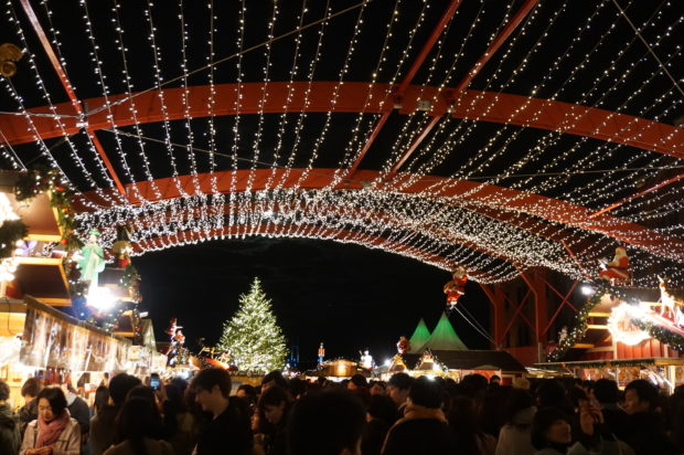 【動画付き】クリスマスマーケットin横浜赤レンガ倉庫 2018年はドイツ古都アーヘンがモチーフ