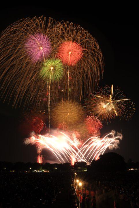第60回立川まつり国営昭和記念公園花火大会