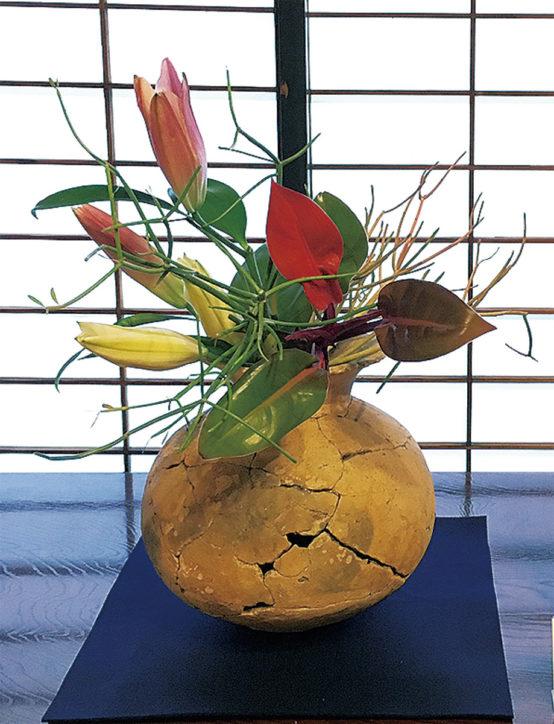 旧富澤家特別展「第4回古代の器といけ花」