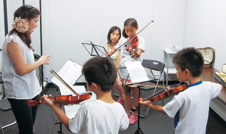 奥深いヴァイオリンの世界を体験!@中央林間・ポラリス