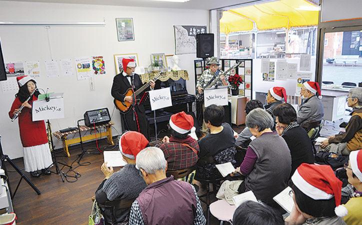 オールデイズバンド「Mickey,s」クリスマスコンサート