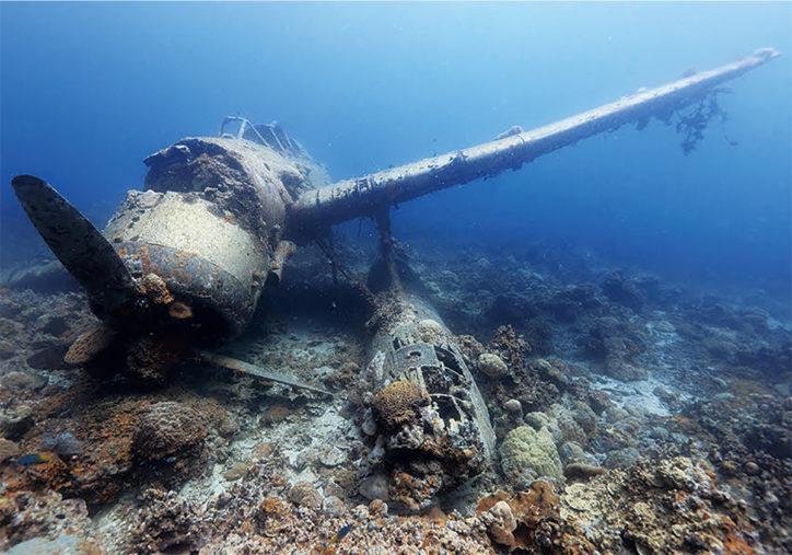 戸村裕行水中写真展「群青の追憶」海底に眠る大東亜戦争の戦争遺産を追う