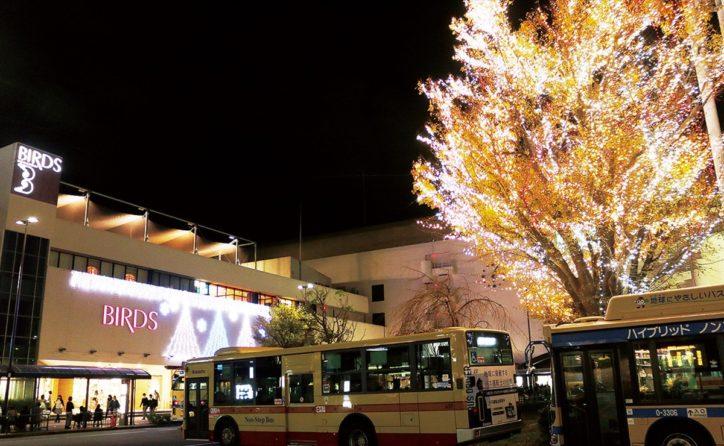 港南台駅前がひかりの街に!冬の風物詩イルミ点灯