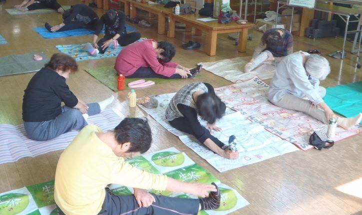 シニアの方も気軽にご参加を『健康体操会』@県立東高根森林公園(川崎市)