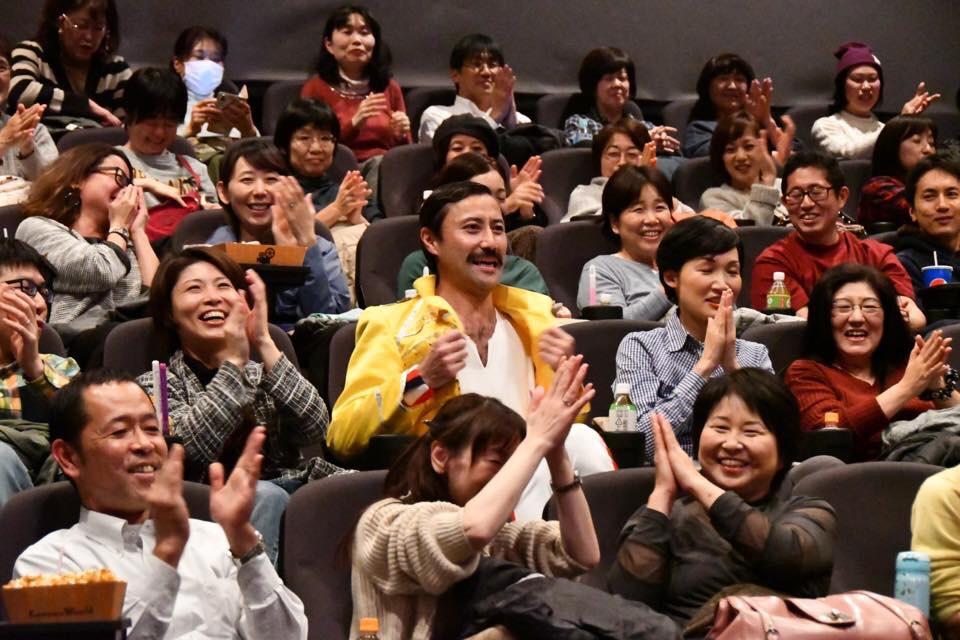【満員御礼】スベリー杉田さん『ボヘミアン・ラプソディ』応援上映に参上@小田原コロナ