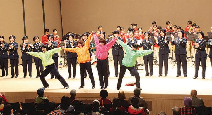 横浜・南消防団員らによる「あったかハートコンサート」@南公会堂