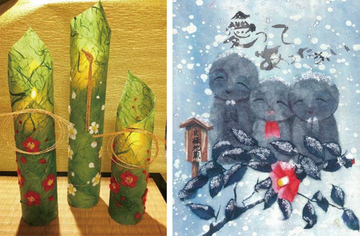 木村元子さん作品展「冬の小さな美術展」@マホロバ・マインズ三浦本館