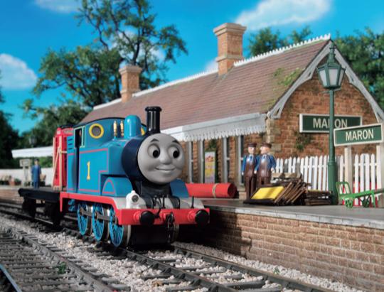 原鉄道模型博物館「きかんしゃトーマス」冬の装い世界最大級のジオラマで特別列車が走る