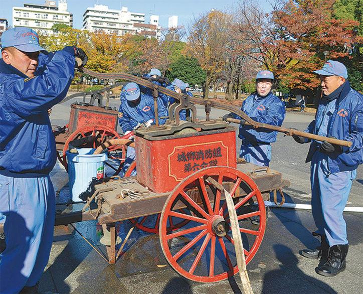 【横浜市中区】近代消防救急発祥の地・横浜情報文化センターで消防出初式