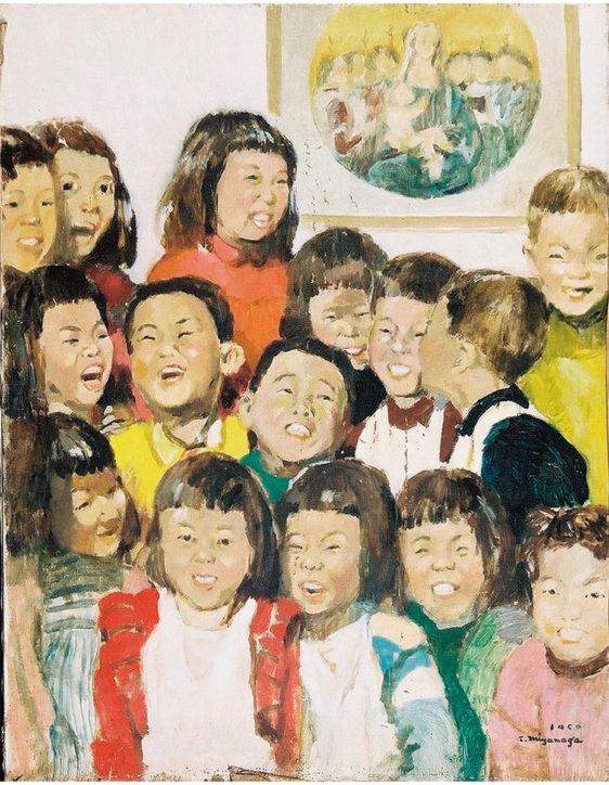 秦野にゆかりの洋画家・宮永岳彦「こどもの世界展」