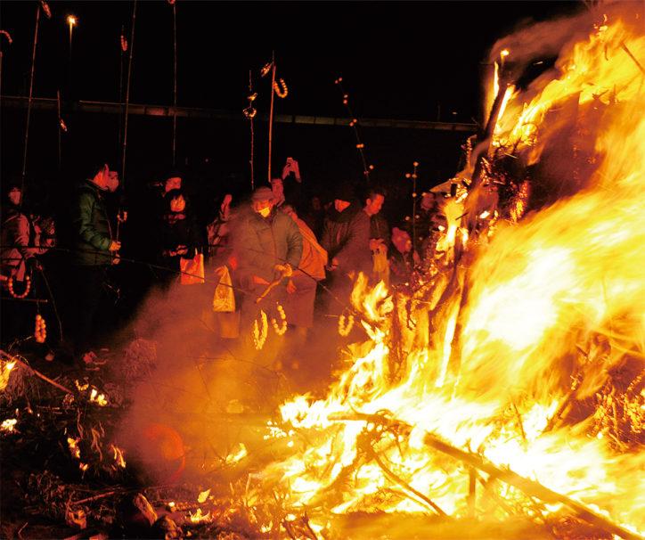 伝統の火祭り「大磯の左義長(国指定重要無形民俗文化財)」1月13日に開催