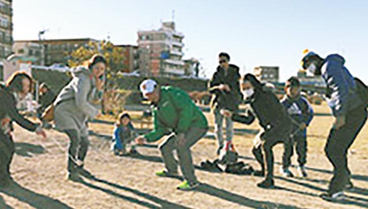 「親子でお正月遊びを楽しもう」先着100家族に和凧進呈