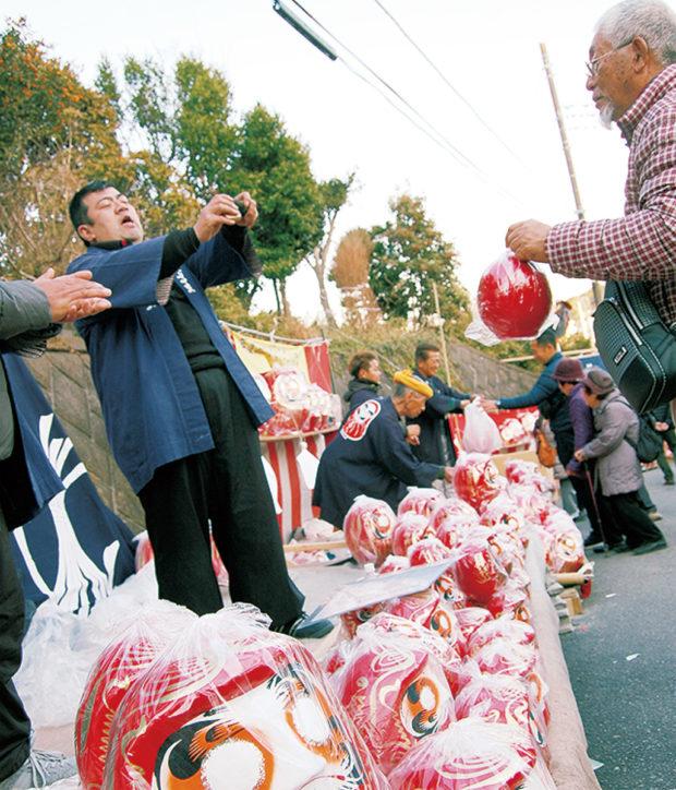 「関東納めのだるま市」麻生不動院で2019年も1月28日に
