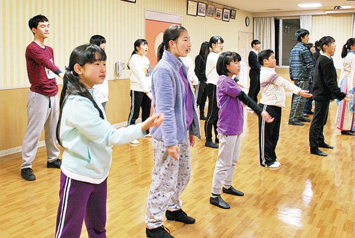 青葉区小中高生ミュージカル「いのちの奏」