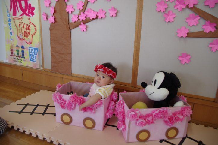 桜の王子様・お姫様になって記念写真