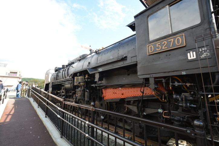 【2019年7月SL整備運行日】D52が動く山北町!山北鉄道公園で「出発進行」